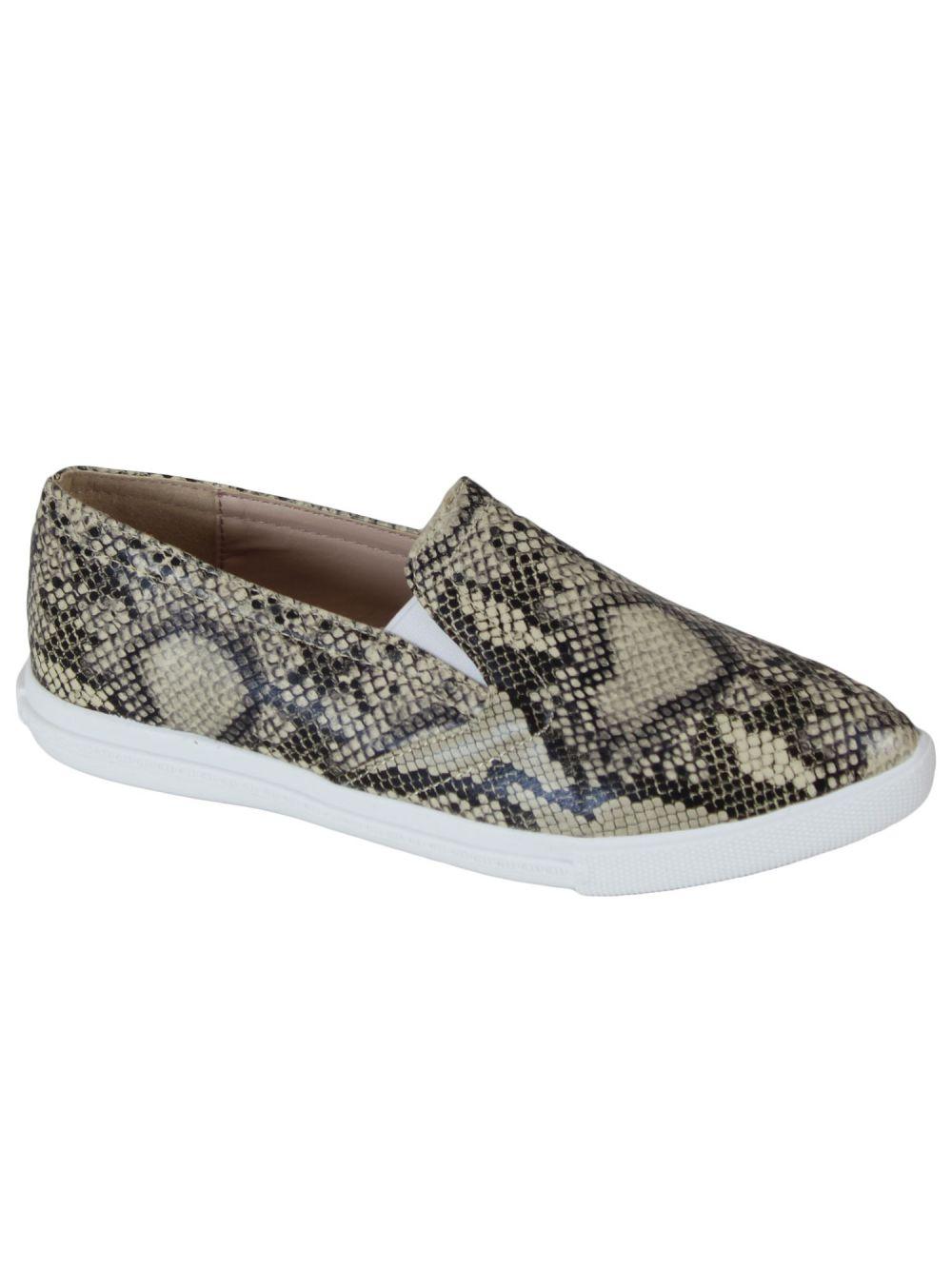 Basket slippers motifs python