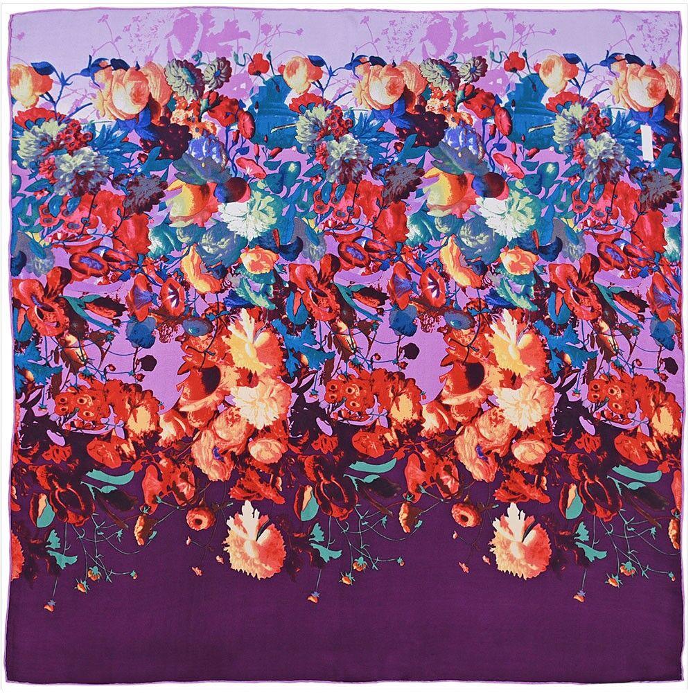 carr de soie premium pioggia 85x85 cm all e du foulard. Black Bedroom Furniture Sets. Home Design Ideas