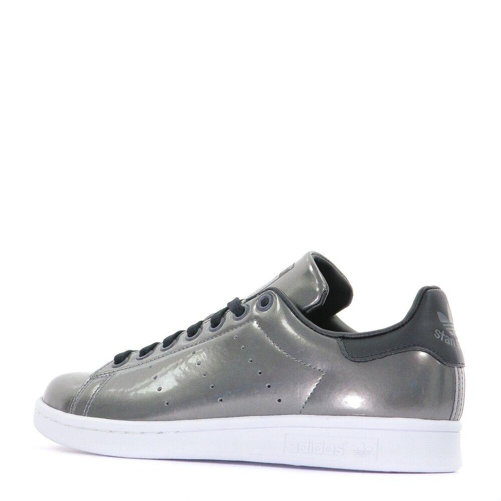 Stan Smith Baskets femme Adidas gris métallisé