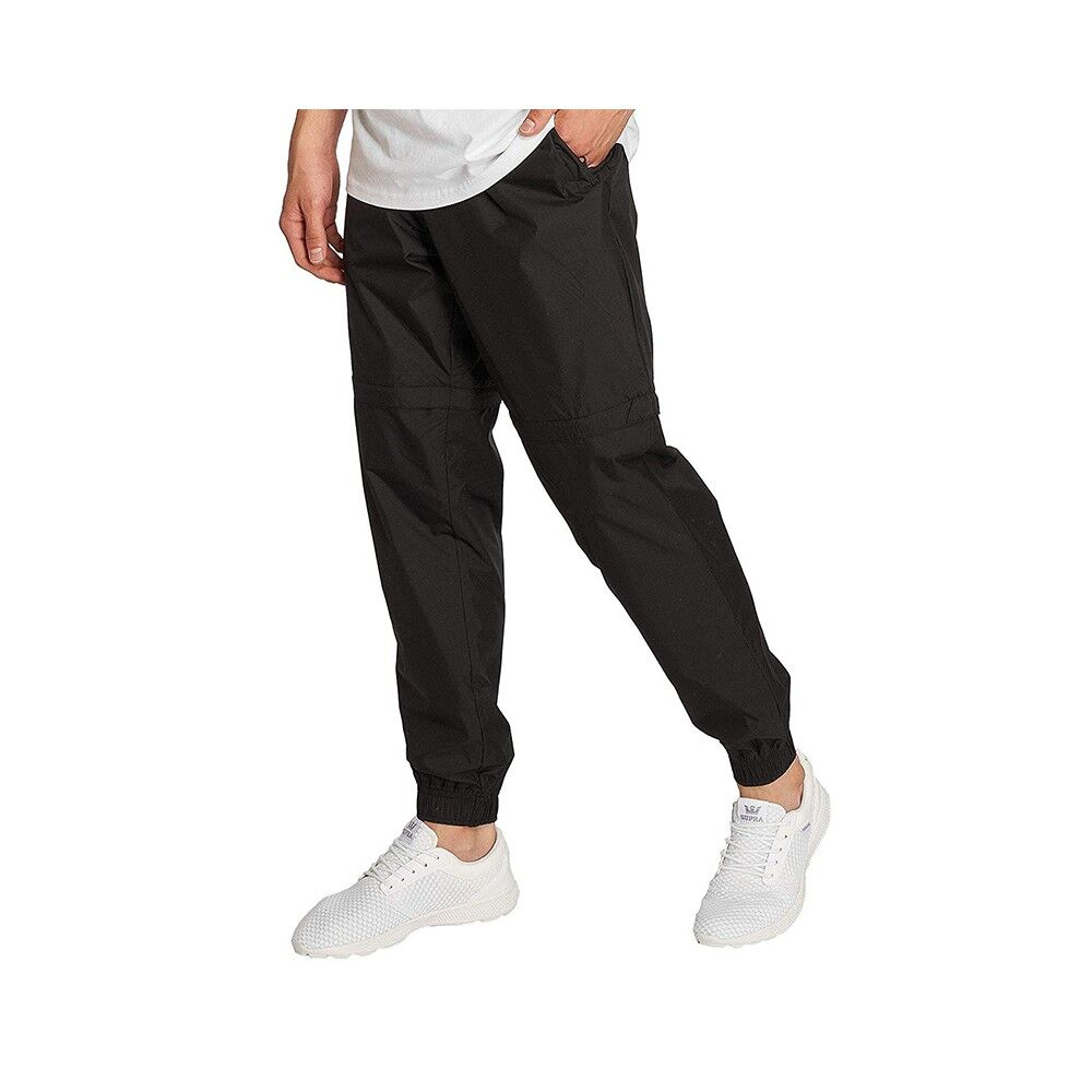 Pantalon de Jogging Noir Grande Taille Homme Rory de Duke