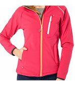 Peak Mountain - Blouson soft shell femme ANSO-fushia