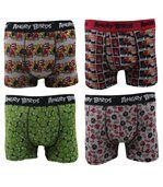 Boxers Homme Lot de 4 Angry Birds preview1