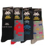 Chaussettes Homme Lot de 4 Space invaders preview1