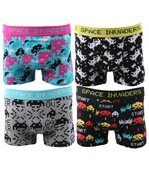 Boxers Homme Lot de 4 Space Invaders preview1