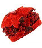 Bonnet femme hiver laine ARNOLD rouge preview1