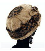 bonnet béret laine bouillie ARNOLD taupe preview3