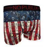 No Publik - Boxer Microfibre Homme Skull Flag preview1