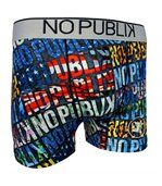 No Publik - Boxer Microfibre Homme Typo preview1