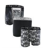 No Publik - Lot De 3 Boxers Microfibre Homme Urban City