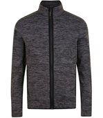 Veste tricot polaire unisexe- 01652 - gris chiné preview1