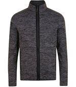 Veste tricot polaire unisexe- 01652 - gris chiné preview2
