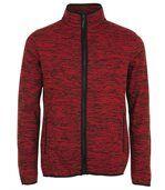 Veste tricot polaire unisexe- 01652 - rouge preview2