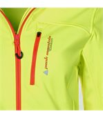 Peak Mountain - Blouson softshell femme ANNE-jaune preview3