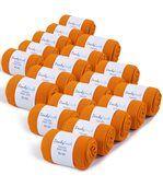 Chaussettes Jersey Homme unies Orange 39-45 (Lot de 20) - Fabriqué en europe preview1