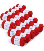 Chaussettes Jersey Homme unies Rouge 39-45 (Lot de 20) - Fabriqué en europe preview1