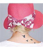 Chapeau casquette Juana Fuchsia - Taille réglable preview3