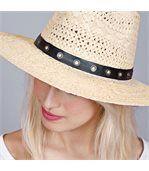 Chapeau de paille Viguia - Taille réglable preview3