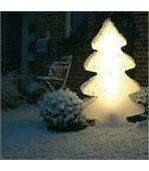 Arbre lumineux blanc éclatant 115 cm indoor et outdoor preview1