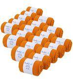 Chaussettes Jersey Homme unies Orange 39-45 (Lot de 20) - Fabriqué en europe preview2