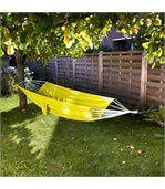 Hamac simple parachute jaune preview1