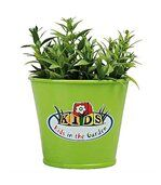 Pot de fleurs vert preview1