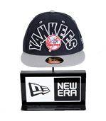 Casquette New Era 59FIFTY Big World Neyan Yankees Noir / Gris preview3
