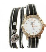 Montre Femme Marron Gris Double-Bracelet M. JOHN 621 preview1