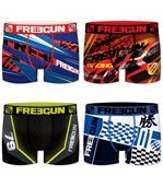 Lot de 4 boxers Homme Freegun Multicolore preview1