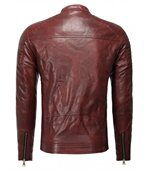 Blouson homme chic rouge preview2