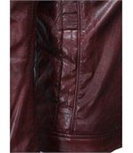 Blouson homme chic rouge preview3