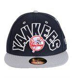 Casquette New Era 59FIFTY Big World Neyan Yankees Noir / Gris preview1