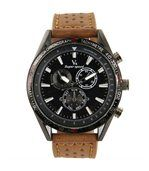 Montre Homme Tendance Cuir Marron V6 744 preview1