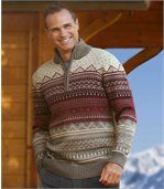 Jacquard-Pullover Nordic Snow preview1