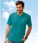 Set van 3 Free Trail T-shirts met V-hals preview2