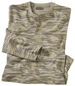 Longsleeve mit Camouflage-Muster preview2