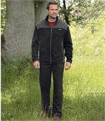 Bequemer Jogging-Anzug aus Fleece preview1