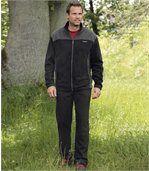 Comfortabel joggingpak van fleece preview1