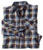 Kostkovaná flanelová košile Winter Valley preview2