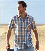 Geruit overhemd 'Best Summer' preview1