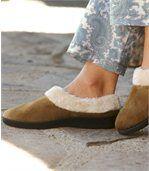 Comfortabele pantoffels met voering preview2