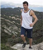 Men's Navy Sport Shorts