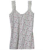 Košilka skvěty akrajkou preview2