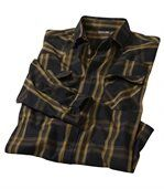 Kariertes Hemd aus Popelin preview2