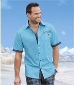 Tyrkysová košeľa Sailing Coast preview1