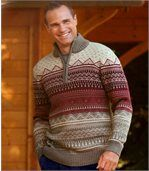 Warmer Jacquard-Pullover preview2