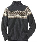 Pull Tricot Jacquard preview2