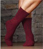 Sada 4 párů melírovaných ponožek preview2