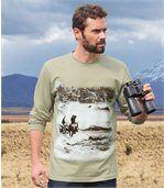 T-shirt met print preview1