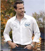 Outdoorová popelínová košeľa preview2