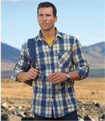 Kostkovaná flanelová košile Kordillera preview1